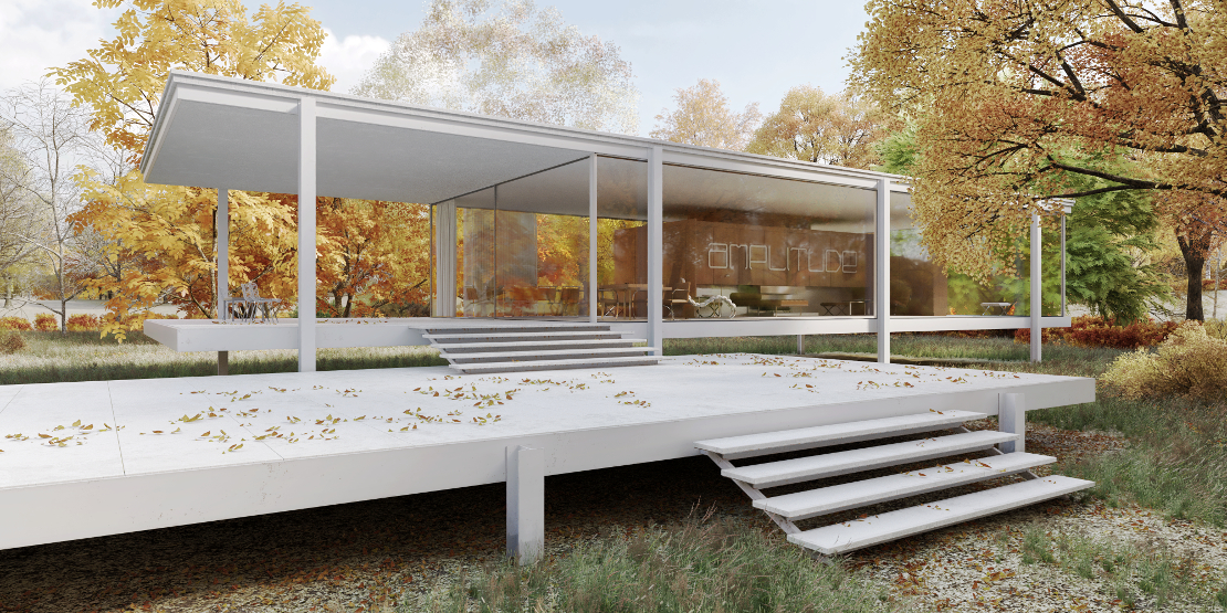 Farnsworth House 360 Virtual Tour Amplitude in motion