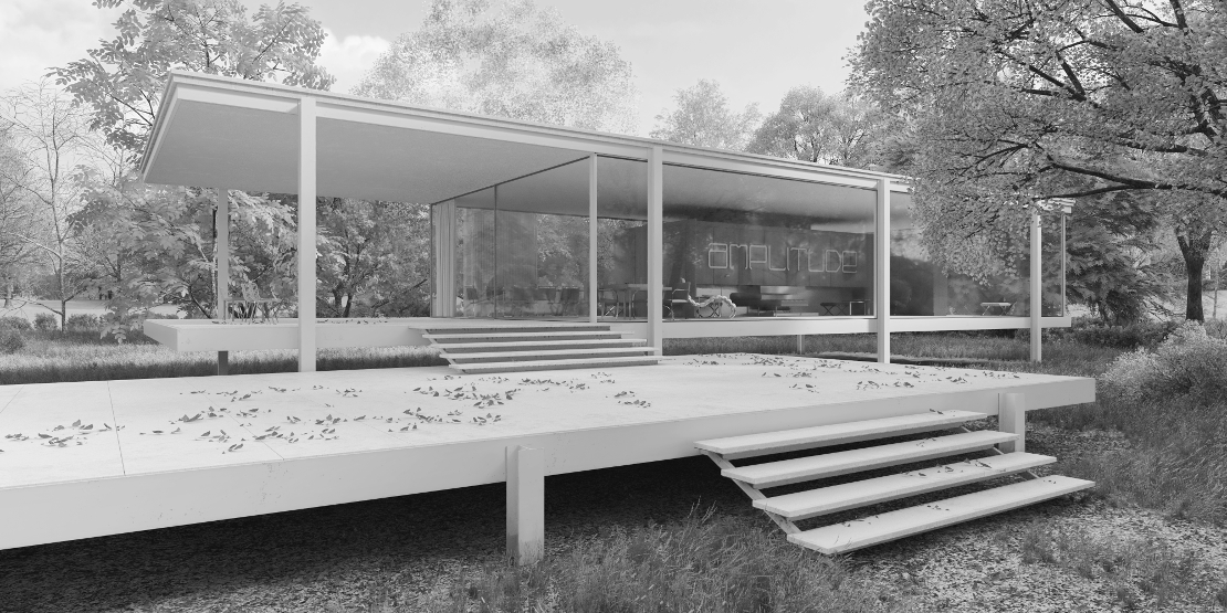 Farnsworth House 360 Virtual Tour bn