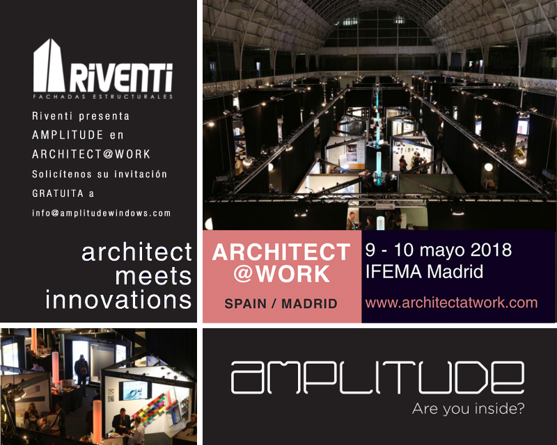 Invitación al evento Architect at work Madrid